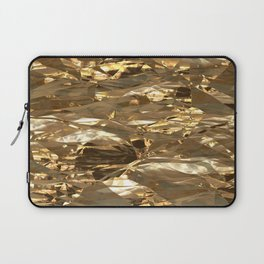 Gold Metal Laptop Sleeve