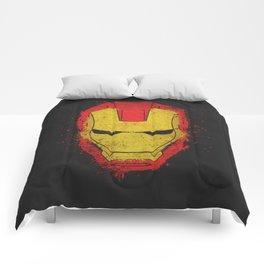 Iron Man splash Comforters