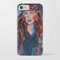kate bishop iPhone & iPod Cases featuring Kate by Juliette Caron