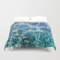minerals Duvet Covers featuring MINERAL MAGIC by Catspaws