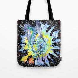 Water dragon Tote Bag