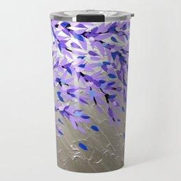Purple Tree of Life Travel Mug