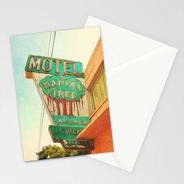 motel sign Stationery Cards