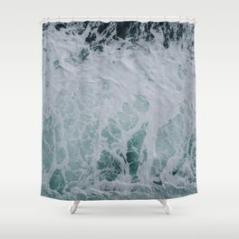 Wonderful Waves Shower Curtain