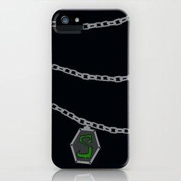 Slytherin Locket Horcrux iPhone Case