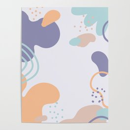 Abstract Art Poster Poster