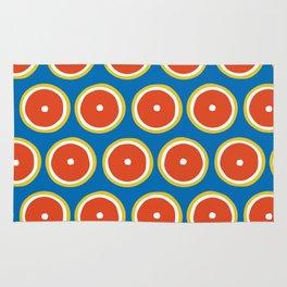 Blood orange pattern Rug