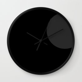Moonokrom no 15 Wall Clock