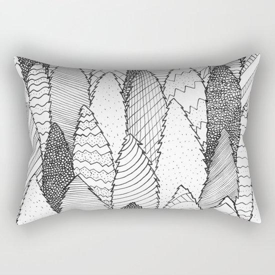 Pattern Trees Rectangular Pillow