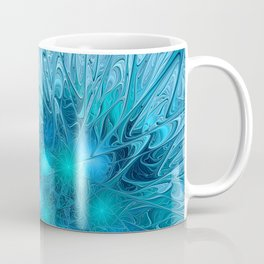 Ice crystal frozen Abstracts Coffee Mug