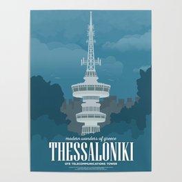 Thessaloniki, Telecommunications Tower (GR) Poster