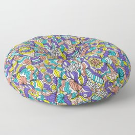 Peach & Violet Floor Pillow