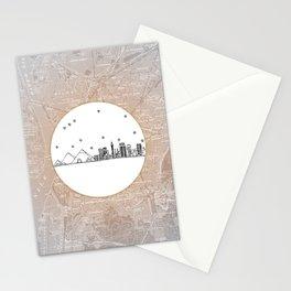 Cairo, Egypt (Giza), Africa City Skyline Illustration Drawing Stationery Cards