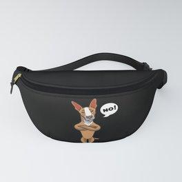Stubborn Podenco dog gift Fanny Pack