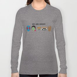 We Are Groot Long Sleeve T-shirt
