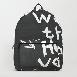 L. Frank Baum quote Backpack