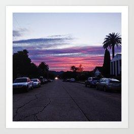 That sunset though Art Print