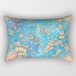 Jellyfish Lake Rectangular Pillow