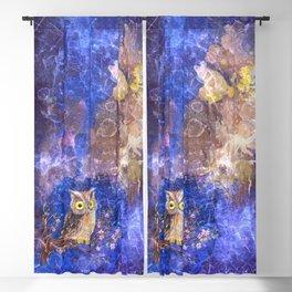 Midnight owl  Blackout Curtain