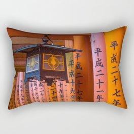 Fushimi Inari Lamp Rectangular Pillow