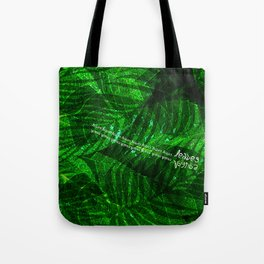 Leaves V12 Tote Bag