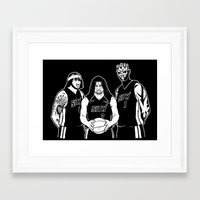 sith Framed Art Prints featuring Miami Sith by Carlos Arteaga
