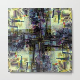 Inkling aura delineation aspect recurs almost lately. Metal Print