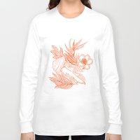 hawaiian Long Sleeve T-shirts featuring Hawaiian-Spring  by bodkin5