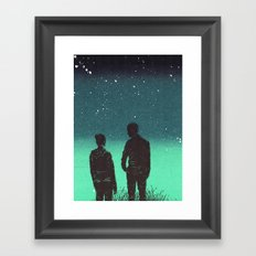 Awestruck Night Framed Art Print