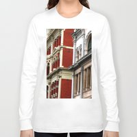 melbourne Long Sleeve T-shirts featuring Melbourne Heritage by Carmen