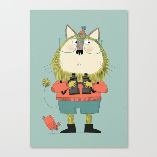 Twitcher Canvas Print