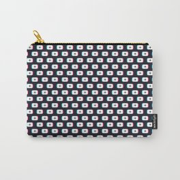 TikTok app button. Pattern design - Dark version Carry-All Pouch