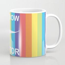 RAINBOW RAPTOR - Rainbow all the way Coffee Mug