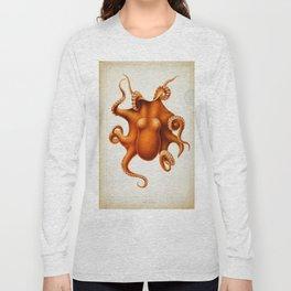 Octopus Cephalopod 1915 Long Sleeve T-shirt