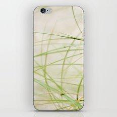Green Wisps iPhone & iPod Skin