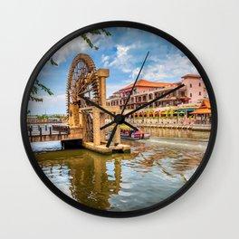 Sultanate Watermill Malacca Wall Clock