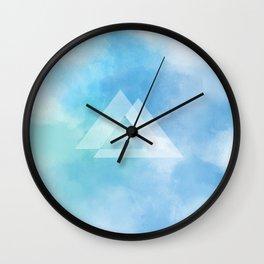 glas clouds Wall Clock