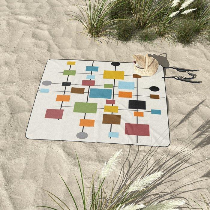 Mid-Century Modern Art 1.3 Picnic Blanket