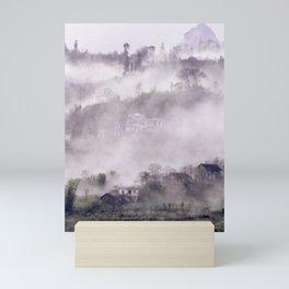 FOGGY FOREST in the VIETNAMESE MOUNTAIN Mini Art Print