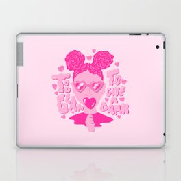 Too Glam to Give a Damn Laptop & iPad Skin