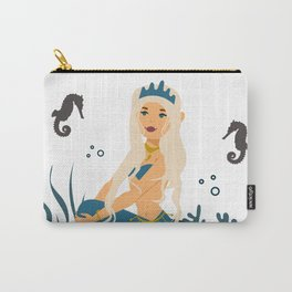 Mother of Seahorses Carry-All Pouch