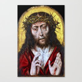 Aelbert Bouts The Man of Sorrows Canvas Print