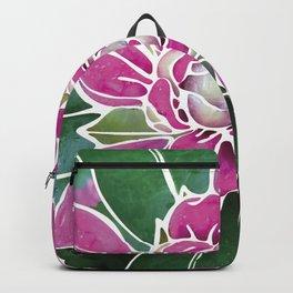 Batik Rhododendron Backpack