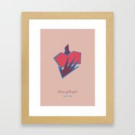 Dizzie Gillespie Framed Art Print