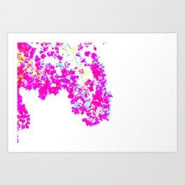 flowers full of light II Art Print
