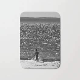 Into the water... Bath Mat
