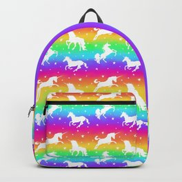 Rainbow Unicorn Happy-Fun-Time Backpack