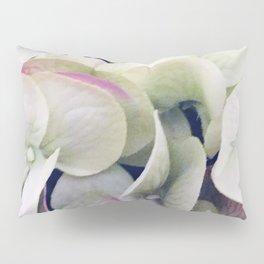 Elegant Bridal Bouquet: White Floral With Pink Accents Pillow Sham