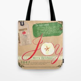 The Legend of the Apple Tote Bag