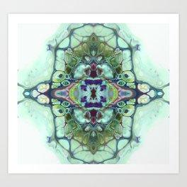 mirror times 4 Art Print
